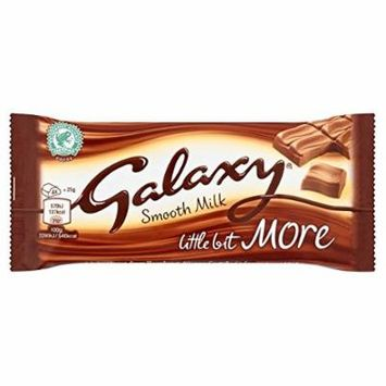 Galaxy Milk Kingsize Chocolate Bar 75 g (6 bars)