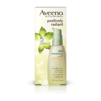 Aveeno® Positively Radiant Daily Moisturizer Broad Spectrum Spf 30