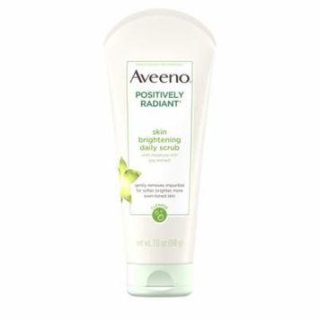 Aveeno Positively Radiant Skin Brightening Exfoliating Face Scrub 7 oz