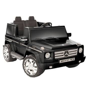 National Products LTD. Kid Motorz Mercedes Benz G55 12V Two Seater Ride On - Black