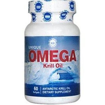 A.c. Grace Company Unique Omega Antarctic Krill Oil 60 Softgels