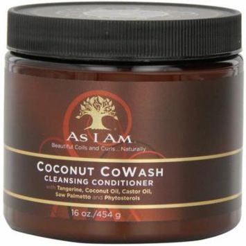 2 Pack - As I Am Coconut CoWash Cleansig Conditioner, 16 oz