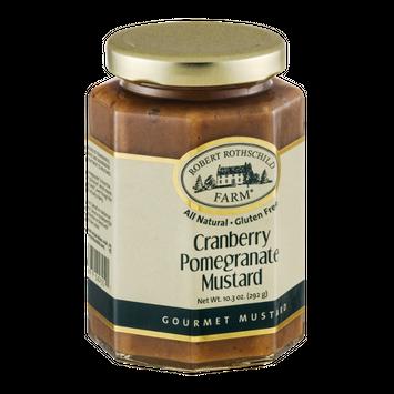 Robert Rothschild Farm Cranberry Pomegranate Mustard