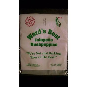 Word's Best Hushpuppies World's Best Jalapeno Hushpuppies, 1.5lbs.
