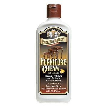 Parker Bailey Parker & Bailey Furniture Cream with Lemon Oil 8oz