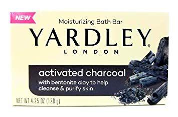 YARDLEY® LONDON Activated Charcoal Moisturizing Bath Bar