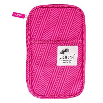 Yoobi Pencil Case - Pink Ziggy