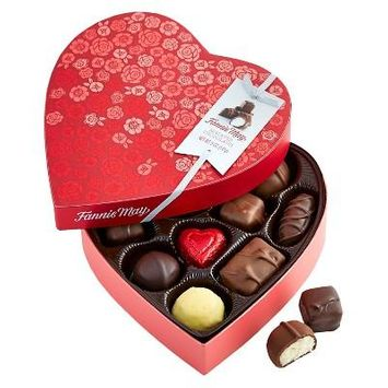 Fannie May Valentines Assorted Chocolates 5oz