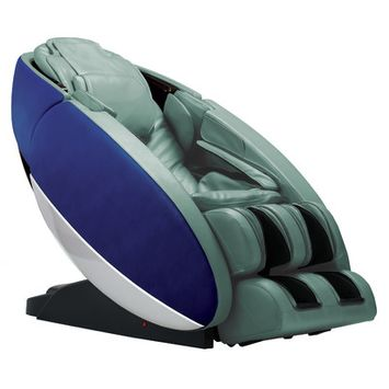 Human Touch Novo Zero Gravity Massage Chair Upholstery Color: Blue