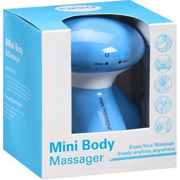 Breo Mini Body Massager, Blue