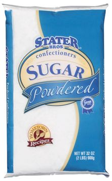 Stater bros Powdered Confectioners Sugar