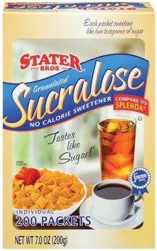 Stater Bros. Sucralose No Calorie Sweetener