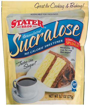 Stater bros Sucralose Granulated Sweetener