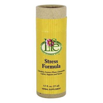 Living Flower Essences Stress Formula - 0.5 fl oz