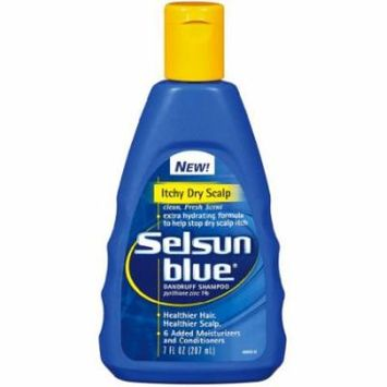 Selsun Blue Dandruff Shampoo - Itchy Scalp 7 oz. (Pack of 6)
