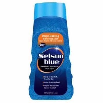 Selsun Blue Dandruff Shampoo - Itchy Scalp 11 oz. (Pack of 2)