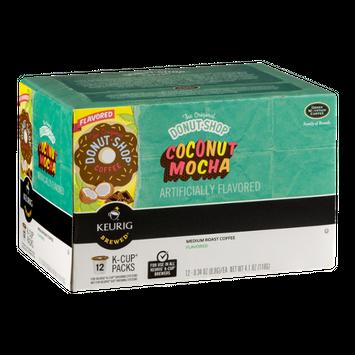 The Original Donut Shop Coffee Coconut Mocha Medium Roast K-Cup Packs - 12 CT