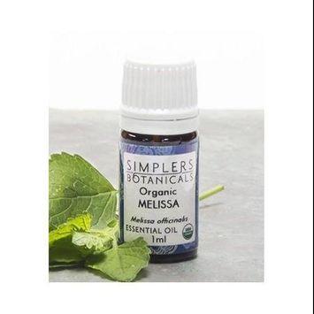 Organic Melissa, 1 ml by Living Flower Essences