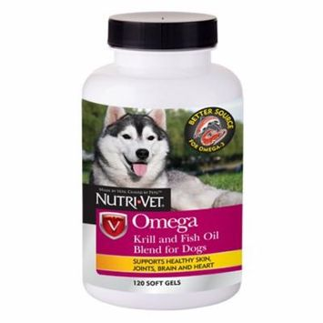 Nutri-Vet Omega Krill and Fish Oil Blend 120ct
