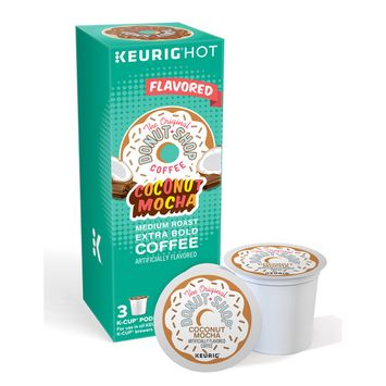 The Original Donut Shop Coconut Mocha Keurig Single-Serve K-Cup Pods, Medium Roast Coffee, 3 Count