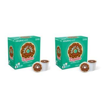 The Original Donut Shop Regular Keurig Single-Serve K-Cup Pods, Medium Roast Coffee, 18 Count - 2 Box
