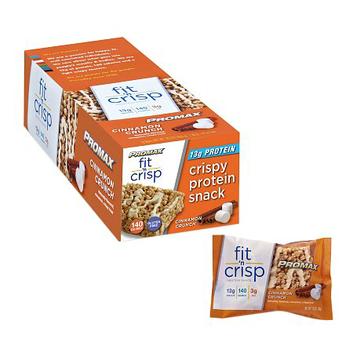 Promax Nutrition Fit 'n Crisp 13g Protein Snack Cinnamon Crunch