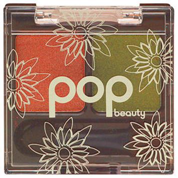 Pop Beauty POP Beauty Shade Duette, Beige Pewter + Green Moss, .03 oz