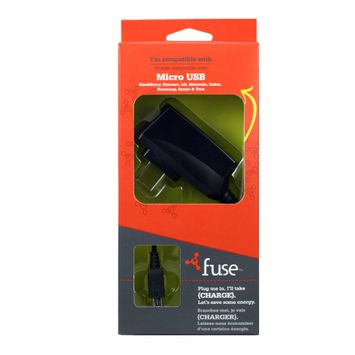 Fuse Micro USB Travel Charger - SIERRA ACCESSORIES