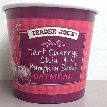 Trader Joe's Tart Cherry,Chia & Pumkin Seed Oatmeal (4 Pack)