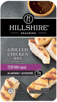 Hillshire® Snacking Grilled Chicken Bites with Teriyaki Sauce