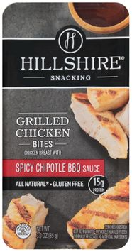 Hillshire® Snacking Grilled Chicken Bites with Spicy Chipotle BBQ Sauce