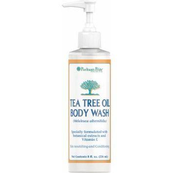 Puritan's Pride Tea Tree Oil Body Wash-8 fl oz Body Wash