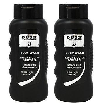 Herban Cowboy Deodorizing Body Wash, Dusk, (Pack of 2) With Coco-Betaine and Zinc Citrate, 18 fl. oz.