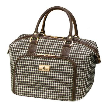London Fog Luggage, Andover 16-in. Cosmetic Bag (Brown)