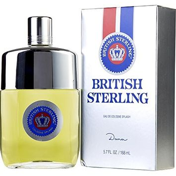 BRITISH STERLING by Dana COLOGNE 5.7 OZ (Package Of 3)