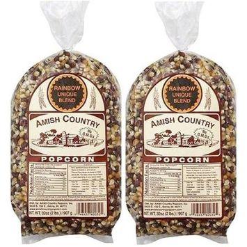 Amish Country Popcorn Rainbow Gourmet Unique Blend