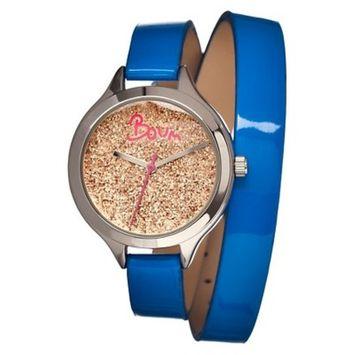 Women's Boum Confetti Watch with Custom Glitter Dial