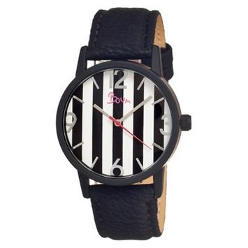 Women's Boum Gateau Watch with Genuine Leather Strap