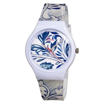 Women's Boum Miam Watch with Patterned Dial