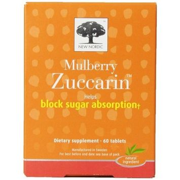 Nordic Zuccarin Diet With Mulberry Leaves For Weight Management Tablets, 60 Ea (pack of 1)