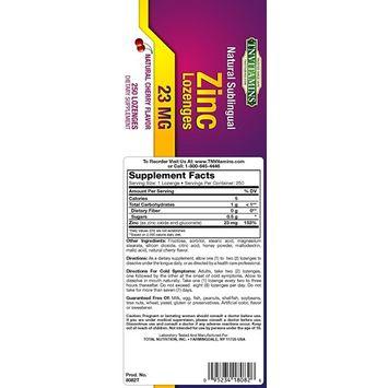 Zinc Cold Relief 250 Lozenges