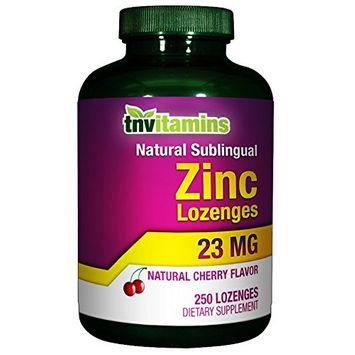 Zinc Lozenges Plus Elderberry, Echinacea and Vitamin C