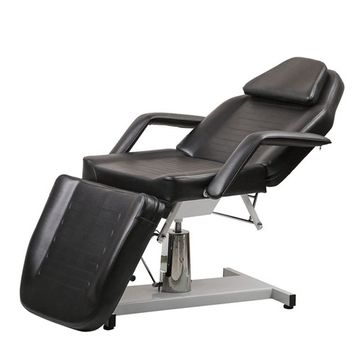 BeautyRiver Beauty Salon Equipment White Facial Massage Table Bed Chair
