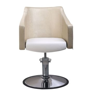 BeautyRiver Gold Classic Hydraulic Barber Chair Salon Beauty Spa Styling Chair
