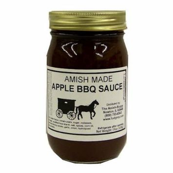 Amish Buggy BBQ Sauce, Apple, 16 Ounce (Pack of 12)