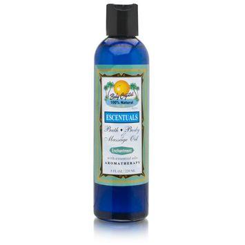 Body Crystal Escentuals Bath Body Massage Oil - Enchantment