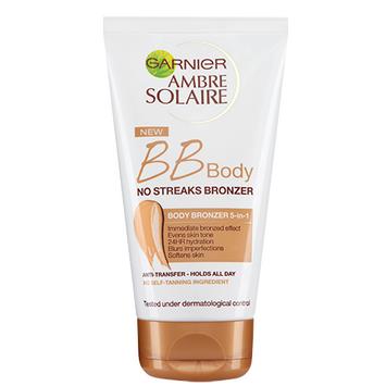 Garnier Ambre Solaire BB Body No Streaks Bronzer 5-In-1 Body Bronzer