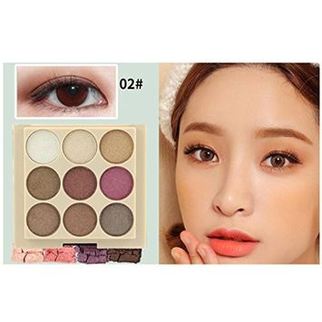 Eyeshadow KingWo 12 Color Women Cosmetic Matte Eyeshadow Cream Makeup Palette Shimmer Beauty