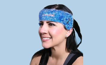 One & Only Hot Cold Migraine Sinus Tension Headache Head Wrap?
