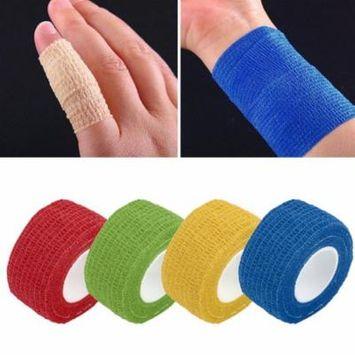 Self-Adhering Bandage Wraps Elastic Adhesive First Aid Tape Stretch 2.5cm